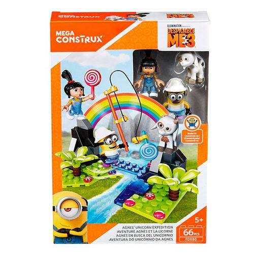 Mega Construx Aventura do Unicórnio da Agnes - Mattel