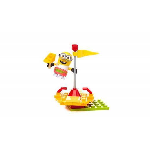 Mega Construx Minions Carrossel do Queijo - Mattel