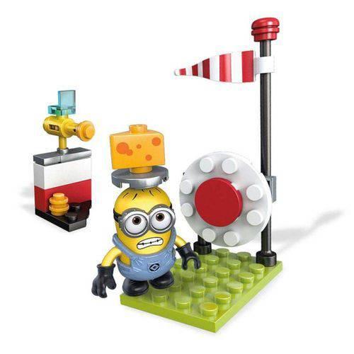 Mega Construx Minions Tiro ao Queijo - Mattel