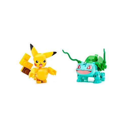 Mega Construx Pokémon Pikachu Vs Bulbasaur - Mattel