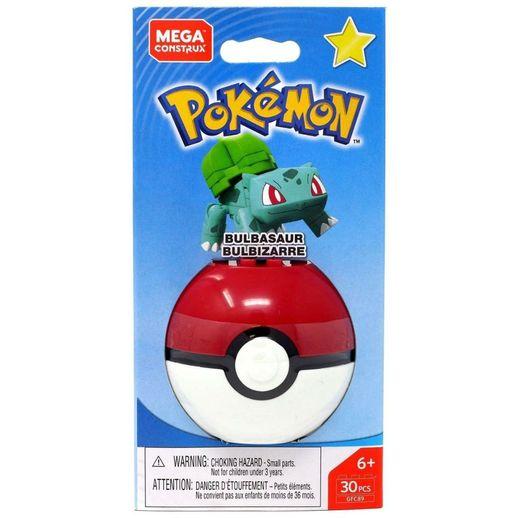 Mega Construx Pokemon Pokeball Bulbasaur - Mattel