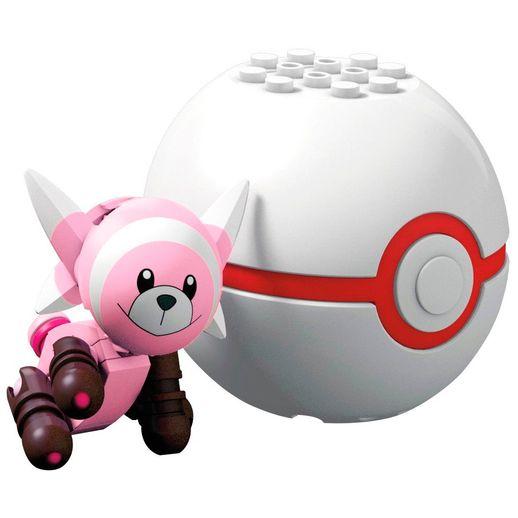 Mega Construx Pokémon Pokebola Stufful - Mattel