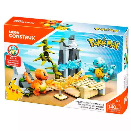 Mega Construx Pokémon Squirtle Vs Charmander - Mattel