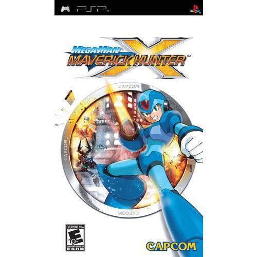 Mega Man Maverick Hunter X - Psp