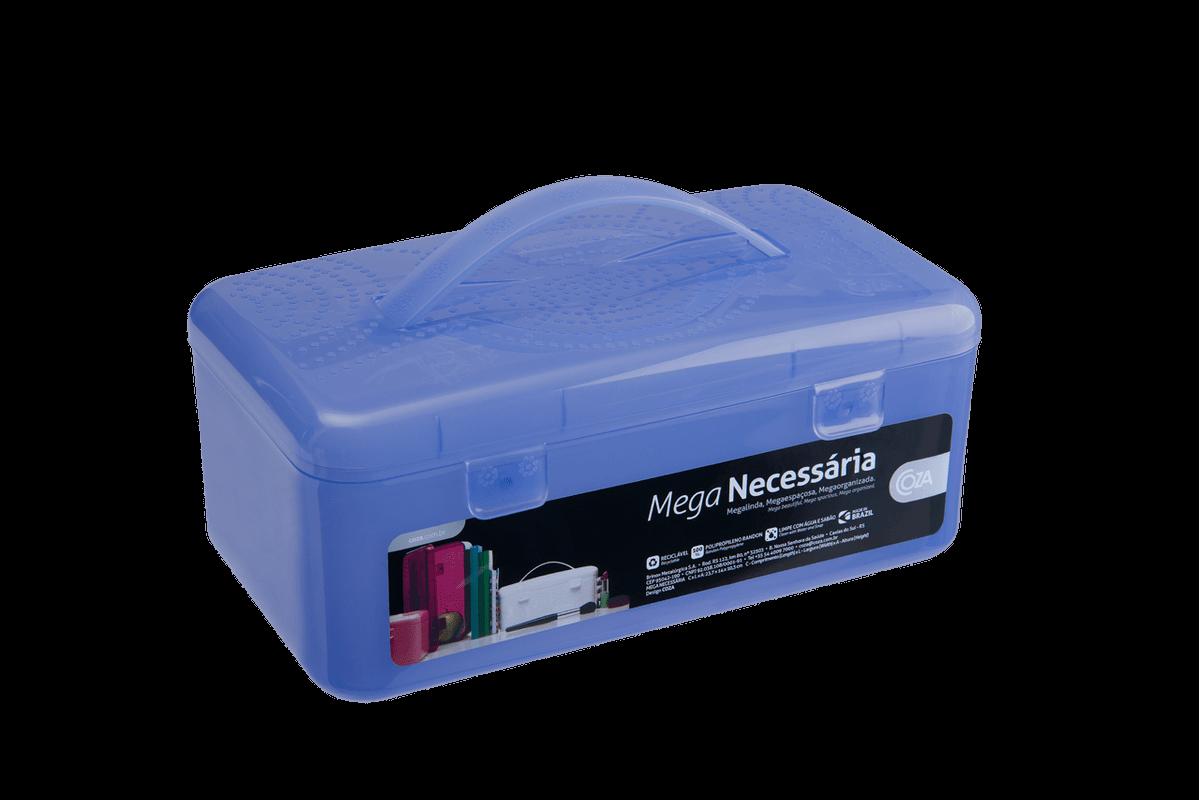 Meganecessária 23,7 X 14 X 10,3 Cm Azul Coza