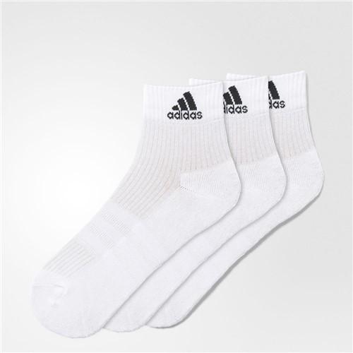 Meia Adidas Ankle Mid Cushion 3PPK AA2285