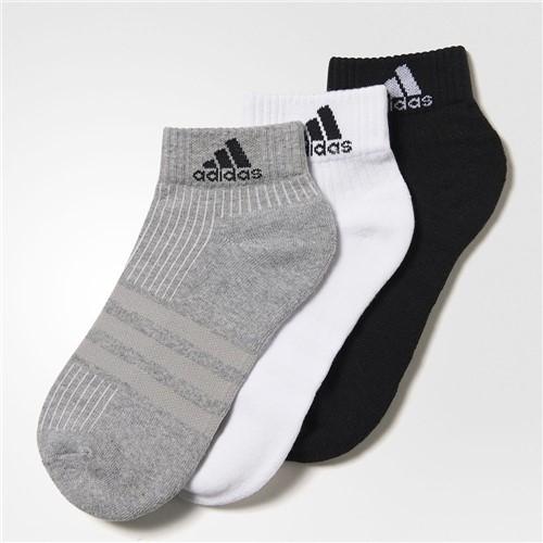 Meia Adidas Ankle Mid Cushion 3PPK AA2287