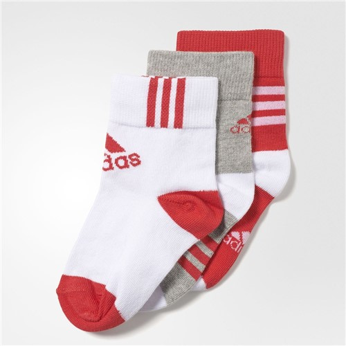 Meia Adidas Ankle Mid Kids 3PPK AY6535