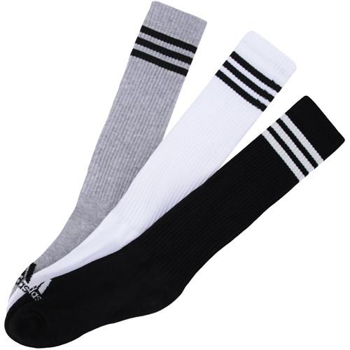 Meia Adidas Knee 3S 3 Pares AY6440