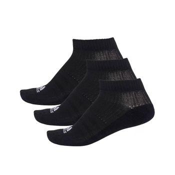 Meia Adidas Liner Cushion Preto/Branco 39-42
