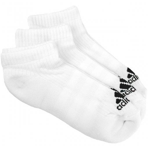 Meia Adidas Liner Cushion 3S 3P Masculina AA2279   MaxTennis