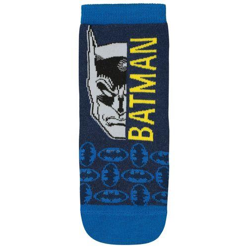 Meia Batman (Infantil) Tamanho: 08 10 | Cor: Marinho | Calçados: 32 a 35