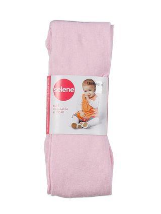 Meia-Calça Infantil para Bebê Menina - Rosa