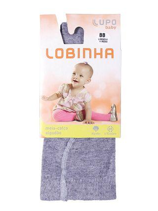 Meia-Calça Lupo Infantil para Menina - Cinza