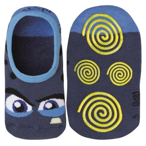 Meia Lupo Sapatilha Antiderrapante (Infantil) Tamanho: G | Cor: Azul | Calçados: 30 a 35