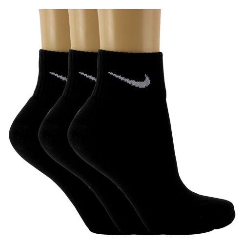 Meia Nike 3 Pares Cushion Quarter