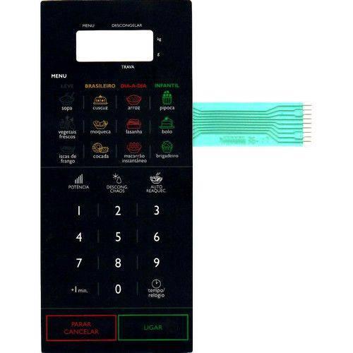 Membrana Teclado Microondas Panasonic Nnst568 Nn St568