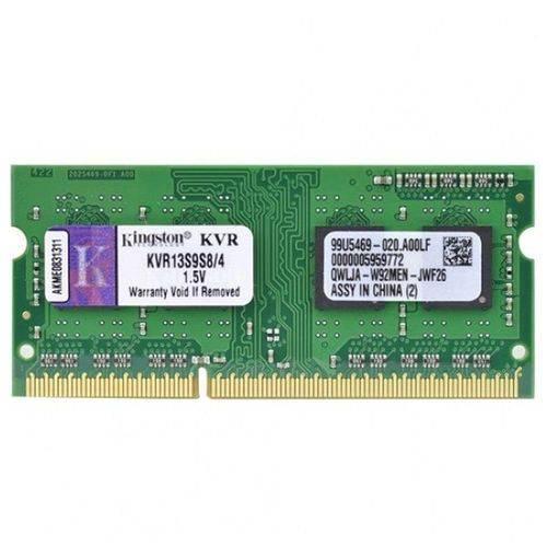 Memoria Kingston 4GB DDR3 1333Mhz Soddim KVR13S9S8/4
