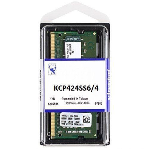 Memória Notebook 4gb Ddr4 2400mhz Kingston 1.2v Kcp424ss6/4