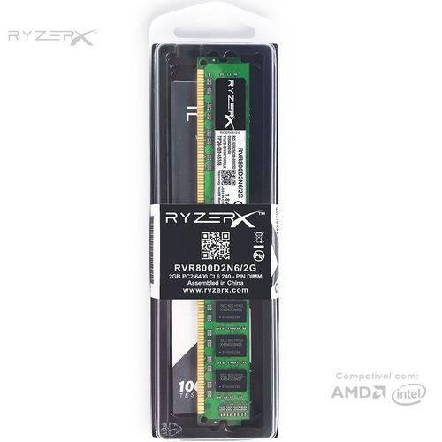 Memória RAM Kingston DDR2 2GB 800mhz