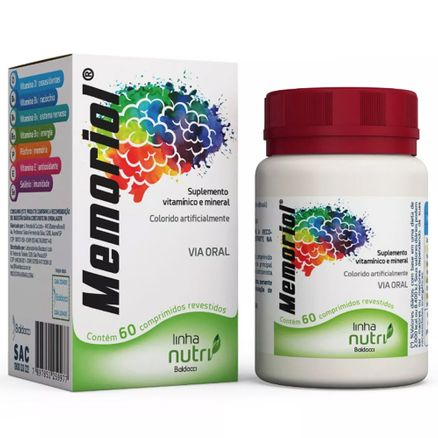 Memoriol 60 Comprimidos