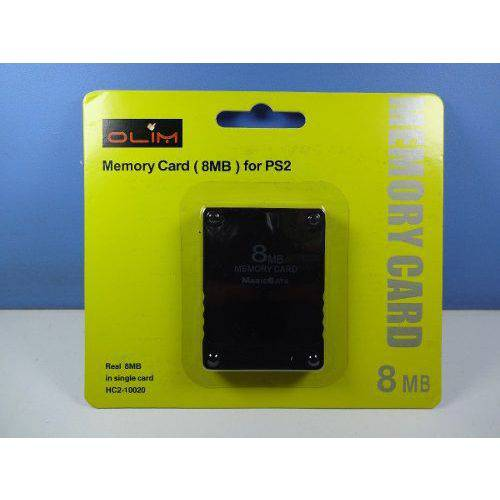Memory Card 8 Mb Ps2