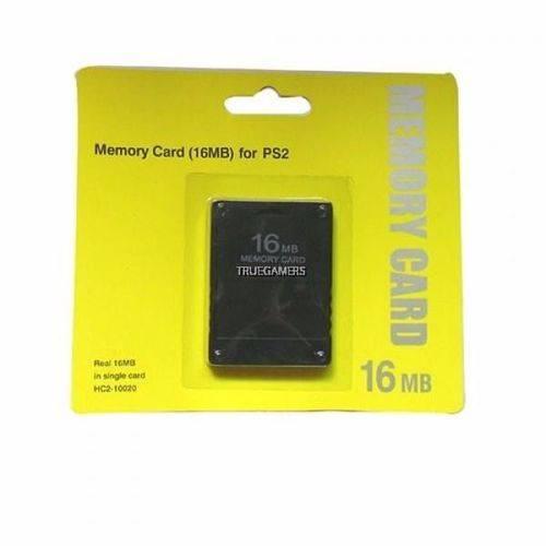 Memory Card PS2 16MB Padrao