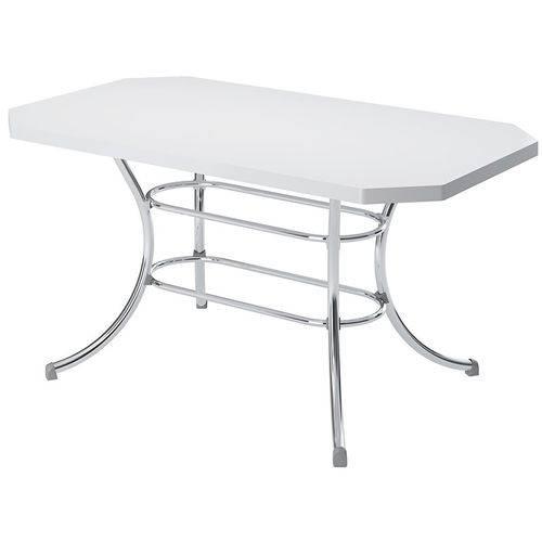 Mesa 1507 Cromada Branca Carraro