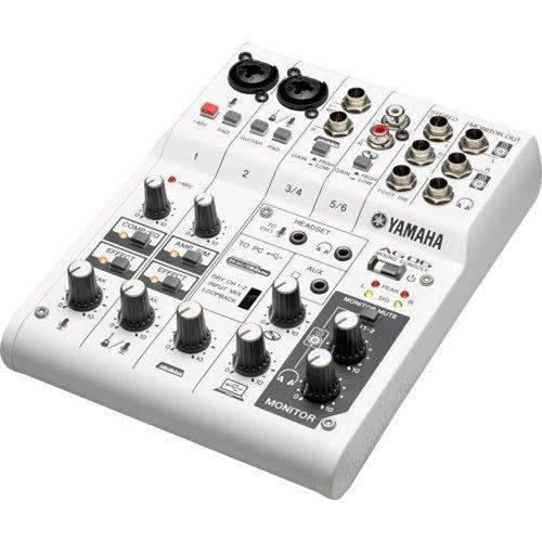 Mesa Analógica Yamaha Ag 06