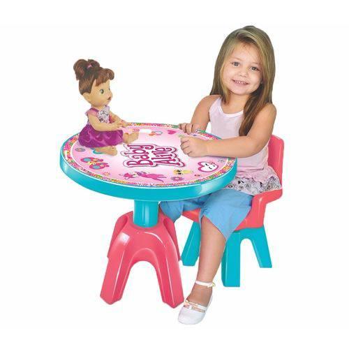 Mesa com Cadeira Baby Alive - Líder Brinquedos