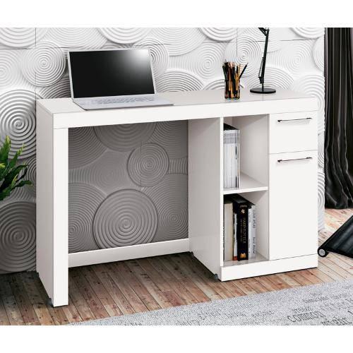 Mesa Computador Doris - Branco - Edn Móveis