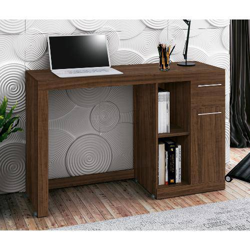 Mesa Computador Doris - Castanho Toque - Edn Móveis