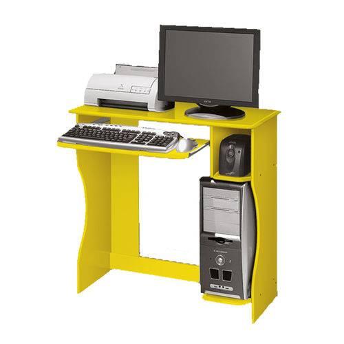 Mesa Computador Livia Amarelo