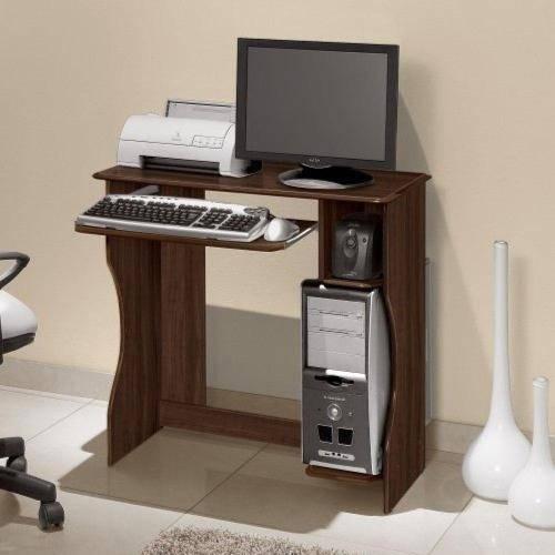 Mesa Computador Lívia - Castanho - Edn Móveis