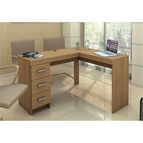 Mesa Computador Politorno Fenix Canto 3 Gavetas - 16011184.0007