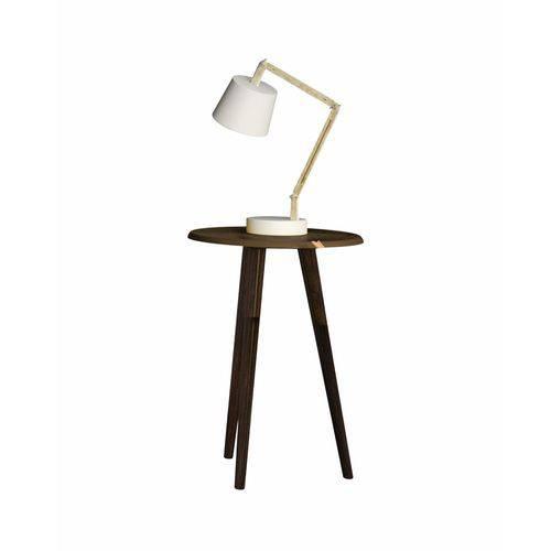 Mesa de Apoio Brilhante Madeira Rústica 2074535 - Móveis Bechara