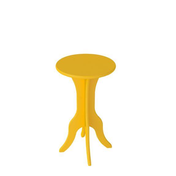 Mesa de Apoio Kin - Amarela