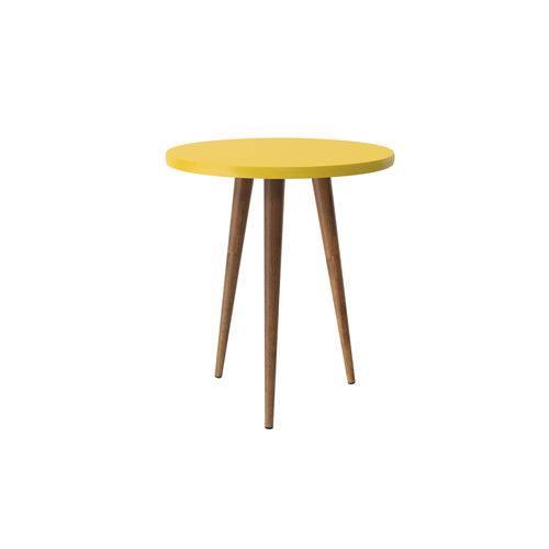 Mesa de Apoio Legs Amarelo