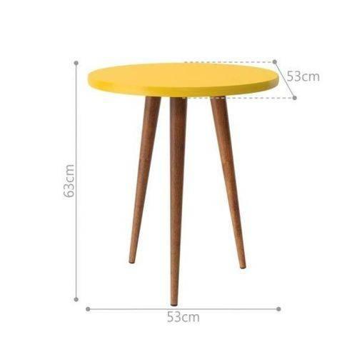 Mesa de Apoio Legs - Amarelo