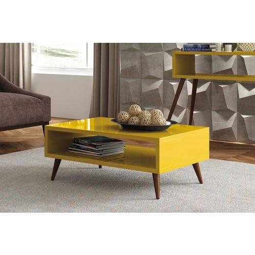 Mesa de Centro-Amarelo-HB Móveis