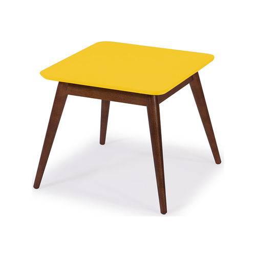 Mesa de Centro Basic Amarela