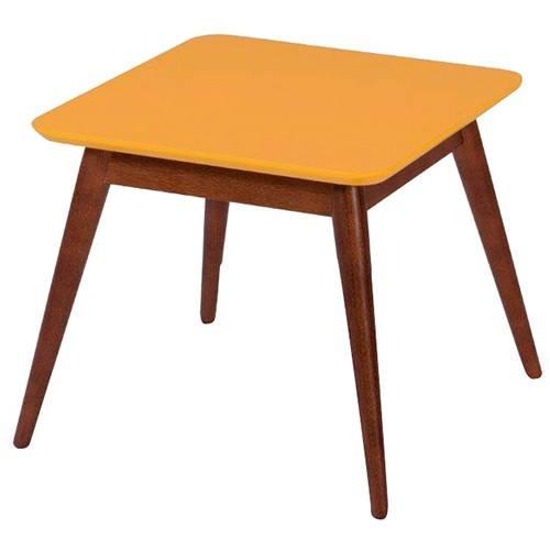 Mesa de Centro Basic Amarelo/Cacau Máxima