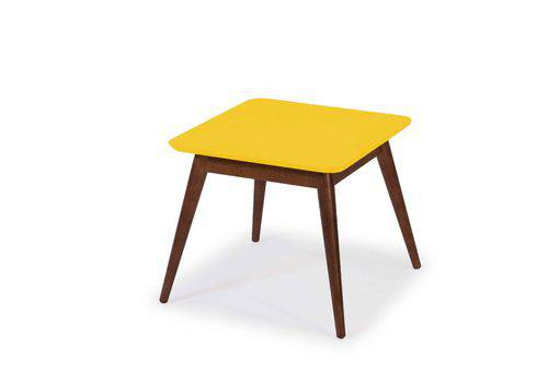 Mesa de Centro Basic Amarelo