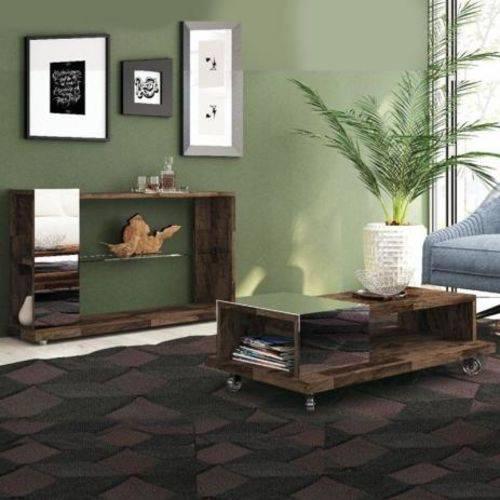 Mesa de Centro Bella e Aparador Idealy-Deck-HB Móveis