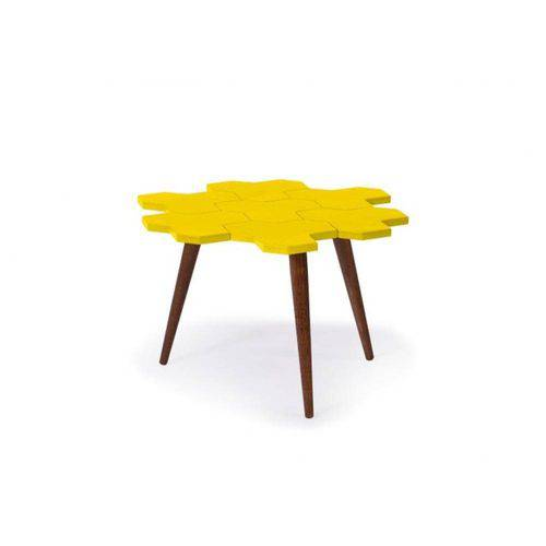 Mesa de Centro Colmèia - Amarelo - Tommy Design