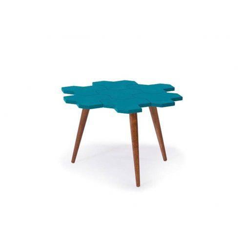 Mesa de Centro Colmèia - Azul - Tommy Design