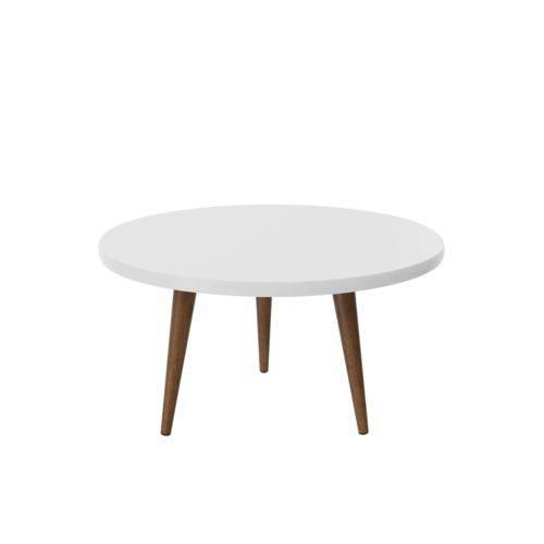 Mesa de Centro Decorativa Legs Branco - Patrimar Móveis