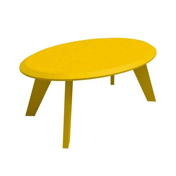Mesa de Centro Ellis - Amarelo