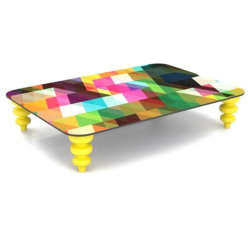 Mesa de Centro Estampa Pixel Color