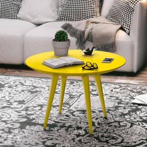Mesa de Centro Grace - Amarelo - Edn Móveis